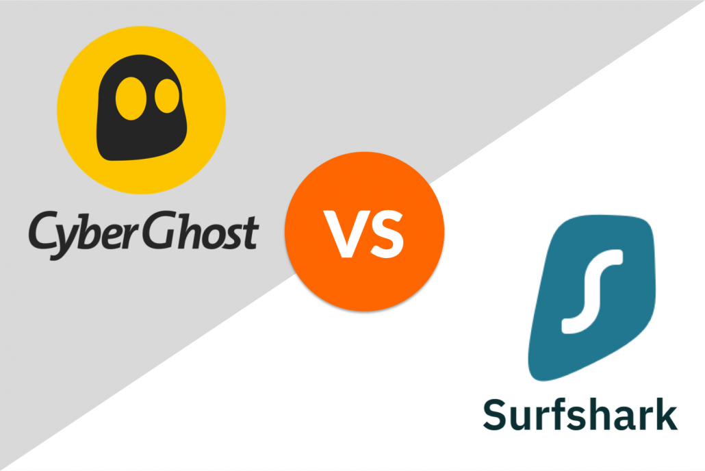 cyberghost vs. surfshark