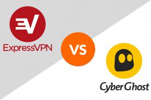 expressvpn vs. cyberghost