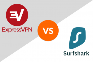 expressvpn vs. surfshark