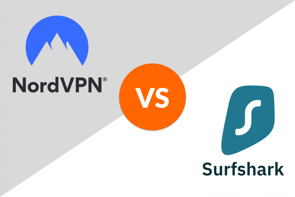 nordvpn vs. surfshark