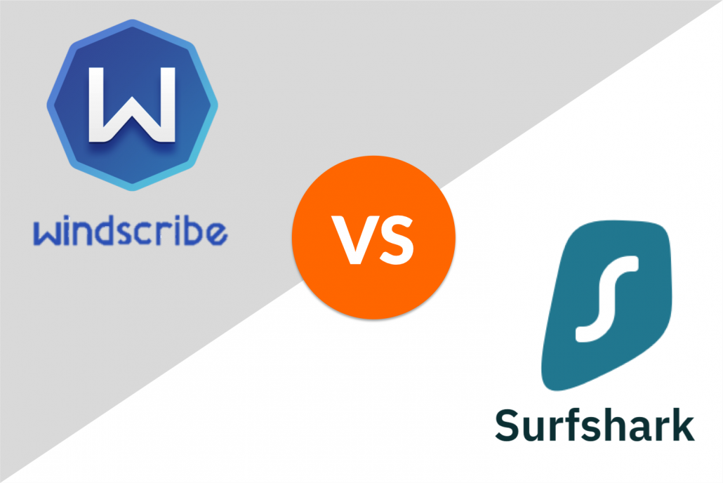 windscribe vs. surfshark
