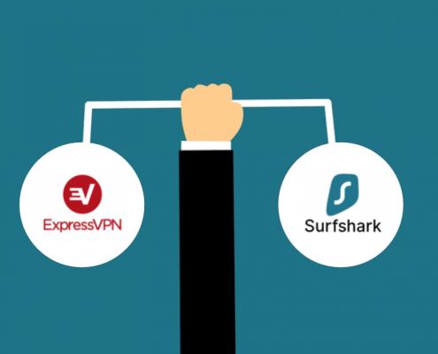 expressvpn vs surfshark