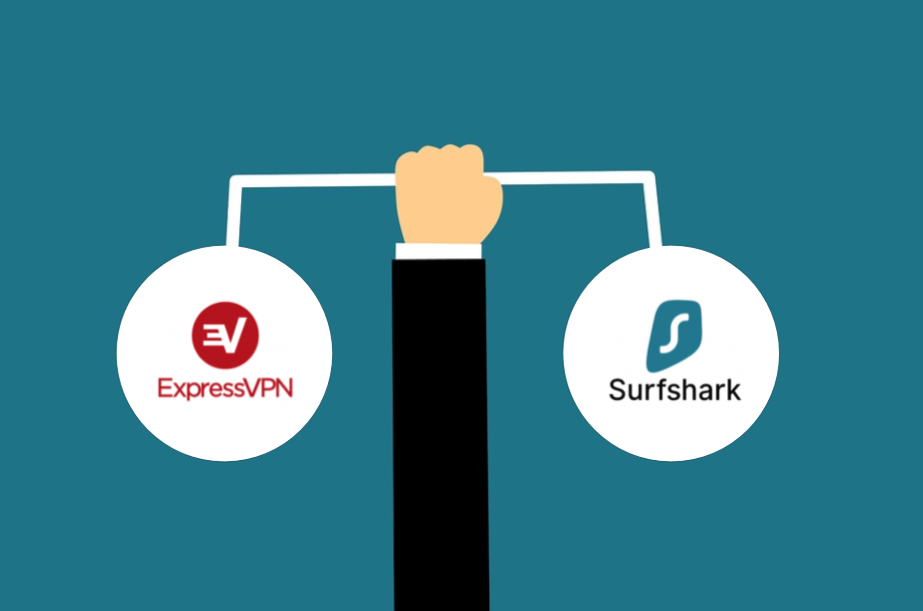 expressvpn vs surfshark