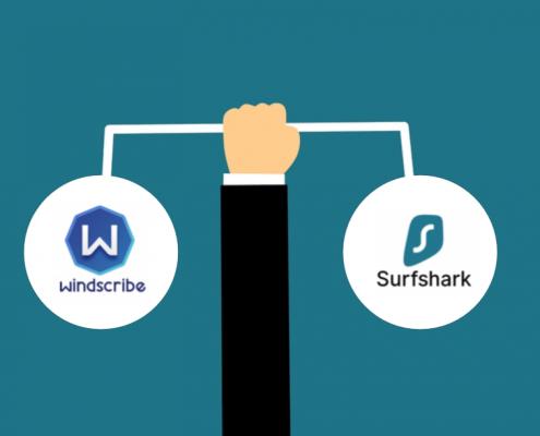 windscribe vs surfshark