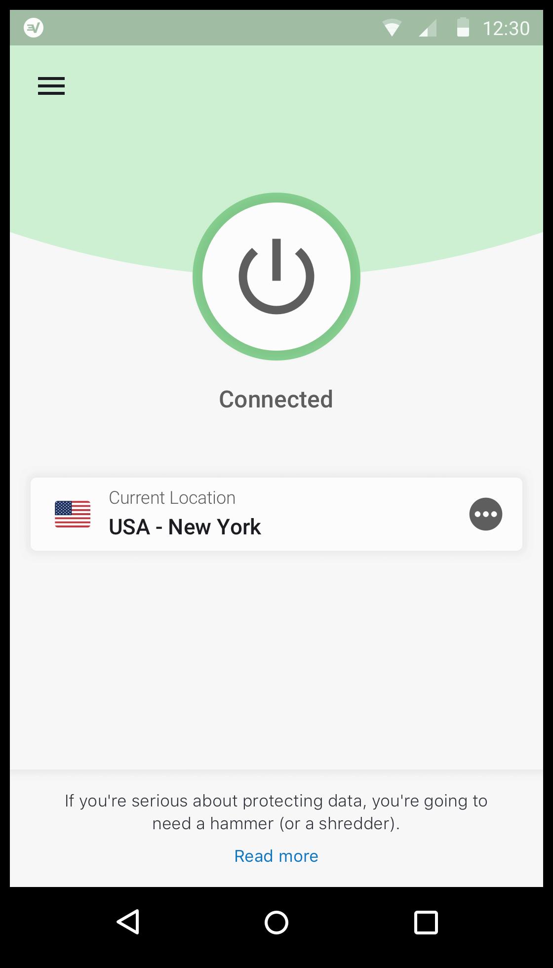 expressvpn op android